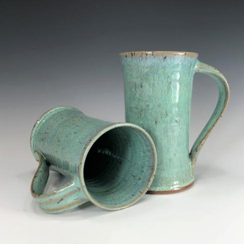 Babcock Exclusives  Steve Tubbs Pottery Sea Spray Opal Tall Cafe Mug STP-099 $34.00