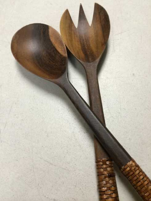 Calaisio   Wood Salad Server Set CAL-169 $51.50