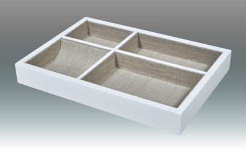 Tizo Designs   White Valet Tray TIZ-893 $63.50