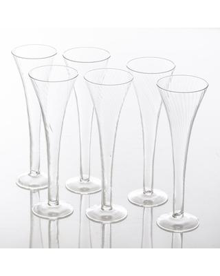 Abigails   Champagne Flutes set/6 ABI-138 $64.50