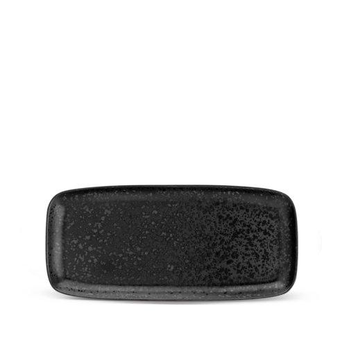 L'Objet  Serving Pieces and Utensils Alchimie Black Medium Rectangular Platter LO-365 $136.00