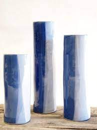 Alex Marshall   Small Blue/White Vase AMS-440 $85.50