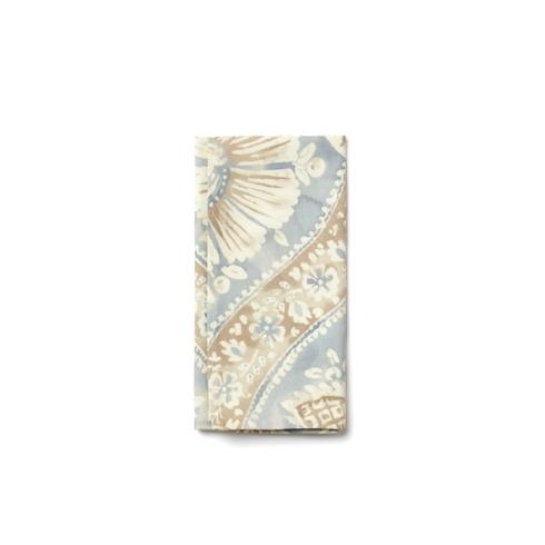 Sky Painted Damask napkin