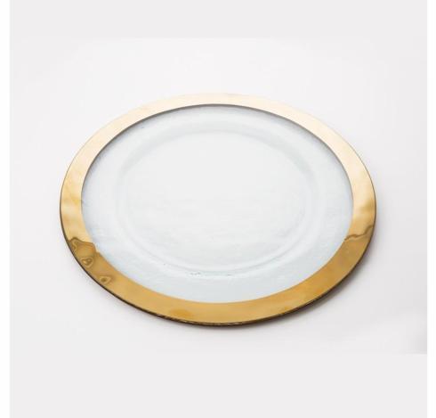Babcock Exclusives   Roman Antique Gold Service Plate AG-815 $105.00