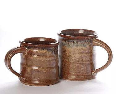 Babcock Exclusives  Steve Tubbs Pottery Antique Iron Large Mug 14oz. STP-128 $22.00