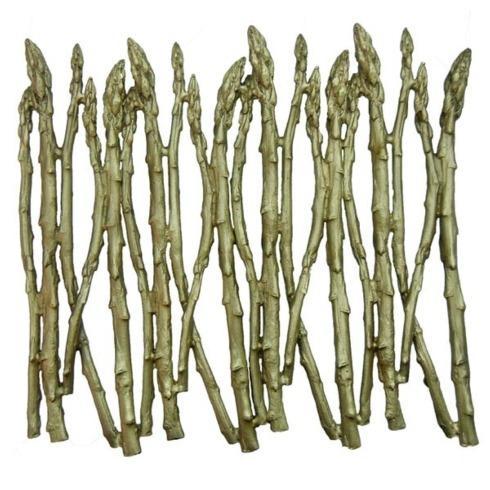 $116.00 Asparagus Gr Plate Trivet TAR-110