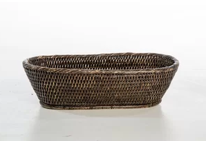 "Babcock Exclusives  Artifacts Espresson Oval Taper Basket 14x6"" ATC-211 $52.00"