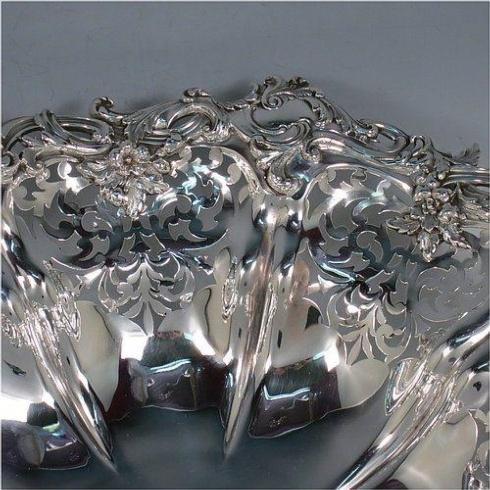 Babcock Exclusives  Estate Silver Antique Basket c. 1860 LAS-345 $475.00