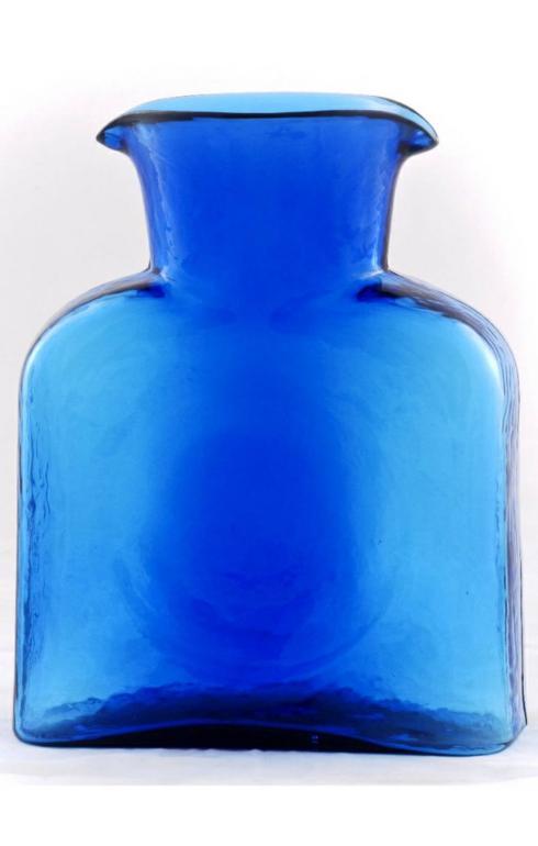 Blenko Glass Co   Classic Water Bottle Cobalt BG-004 $52.00