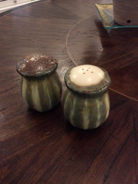 Good Earth Pottery  Blue Bird Salt and Pepper GOE-233 $56.00