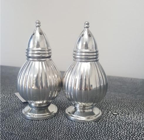 "Boardman Silversmiths   3.25"" Salt and Pepper Set BDM-499 $59.00"