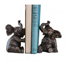Dessau   Bronze Elephant Bookends/DES-142 $90.00