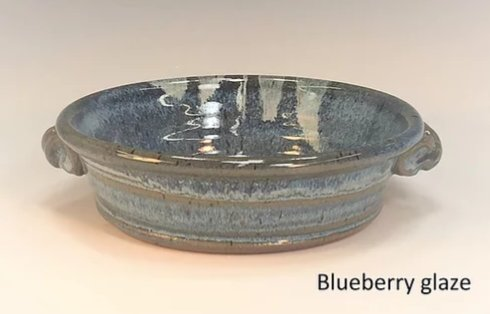Babcock Exclusives  Steve Tubbs Pottery Blueberry Brie Baker STP-133 $31.00