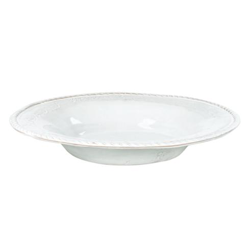 Bellezza white pasta bowl