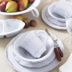 Bellezza white cereal bowl