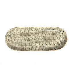 Terrafirma   Charcoal Rattan Bread Tray TCI-075 $118.00