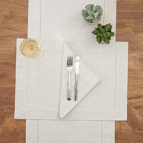 C & F Home   Hemstitch Natural Placemat CFE-202 $9.00