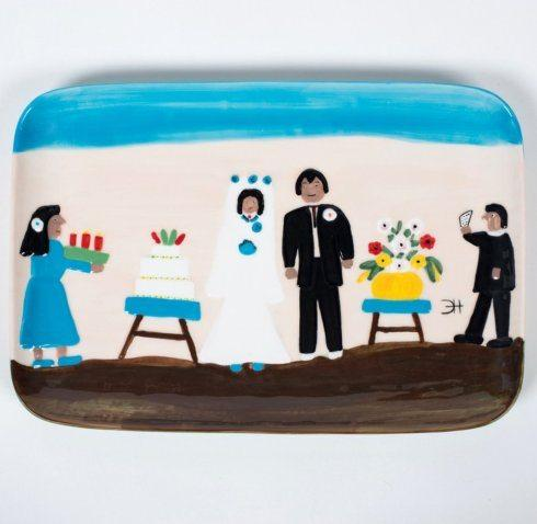 Babcock Exclusives  Gittery Gallery Cane River Wedding Rectangular Platter GTG-029 $139.00