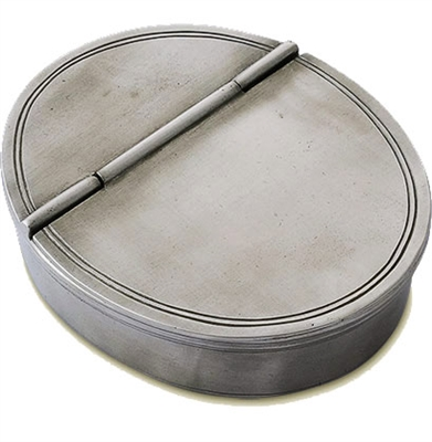 Match   Oval Lidded Cigar Tray MTH-310 $220.00