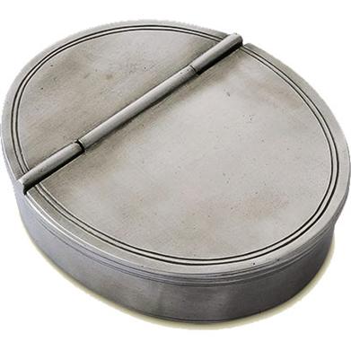 $220.00 Oval Lidded Cigar Tray MTH-310