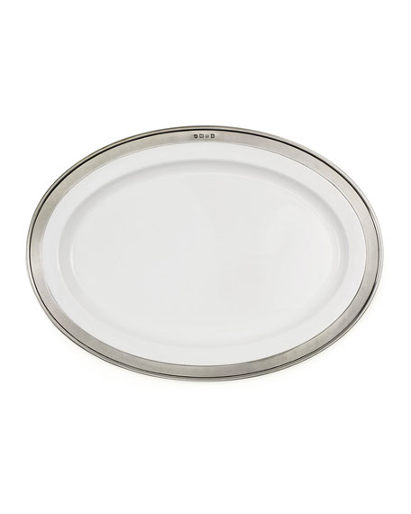 $420.00 Convivio Oval Serving Platter MTH-109