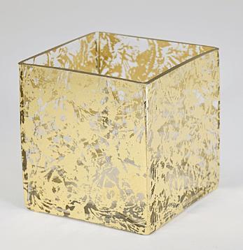 """$31.00 3x3"""" Cube Vase Wabi Sabi TCH-001"""