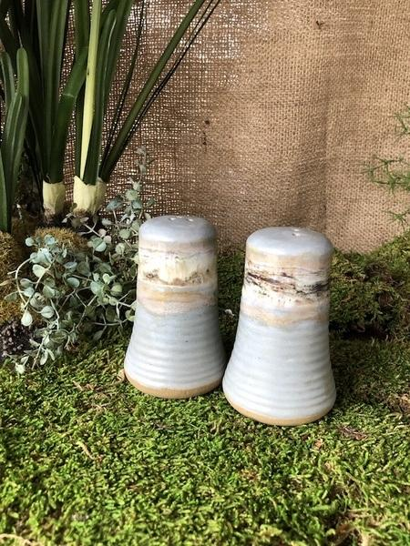 Etta B Pottery  Serving Pieces Salt & Pepper Set Assorted EBP-428 $55.00