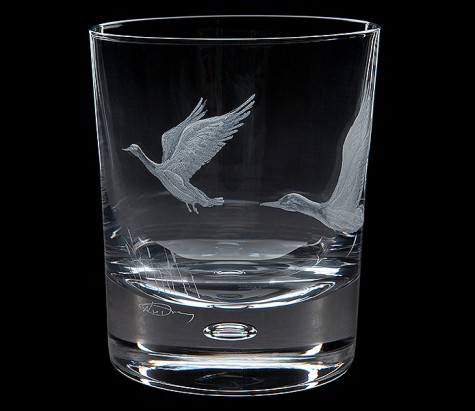 Babcock Exclusives  Royal Brierly English Game Mallard Tumbler RBC-204 $125.00
