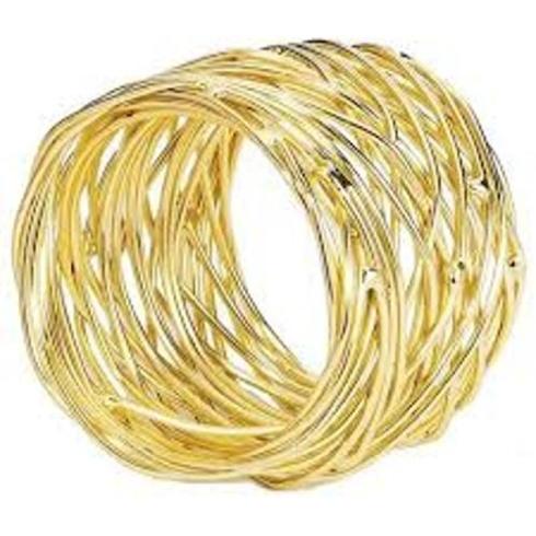 Bodrum   Tara Gold Napkin Ring BDR-171 $9.50