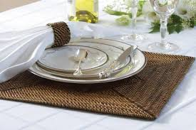 Calaisio   Square Placemat w/Diamond Pattern CAL-101 $36.50