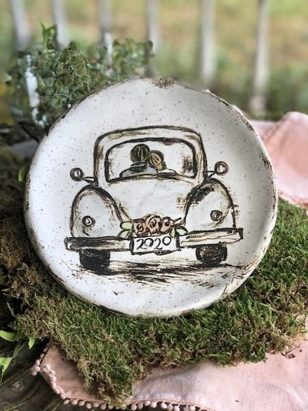 Etta B Pottery  Wedding Happily Ever After 2020 EBP-488 $54.00