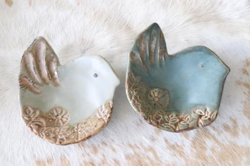 Etta B Pottery  Decorative Chickadee - Assorted Glaze EBP-019 $27.50