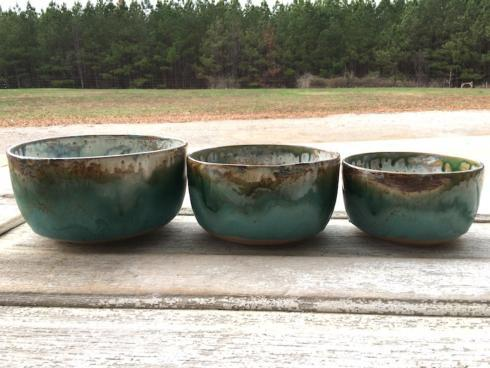 Etta B Pottery  Serving Pieces Medium Mixing Bowl Assorted EBP-329 $80.00