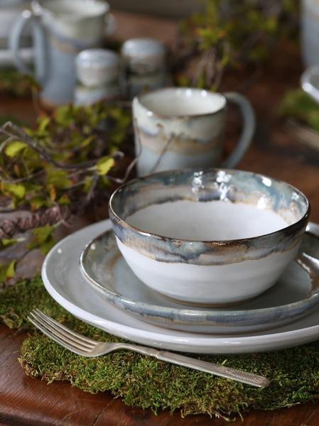 Etta B Pottery  Dinnerware - Townhouse Magnolia Salad EBP-782 $40.00
