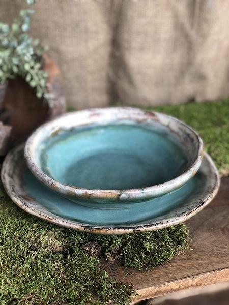 Etta B Pottery  Dinnerware - Farmhouse Chili Bowl Assorted EBP-429 $34.00