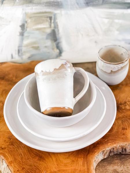 $43.00 Simply White Tea Tumbler EBP-768