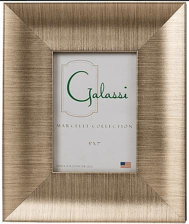 F.G. Galassi   Gatsby Champagne Frame 5x7 FGG-252 $41.50