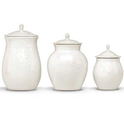 Lenox  French Perle White Cannisters, Set of 3 LEC-139 $186.00