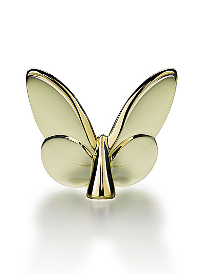 Baccarat   Lucky Butterfly Gold BCX-269 $175.00