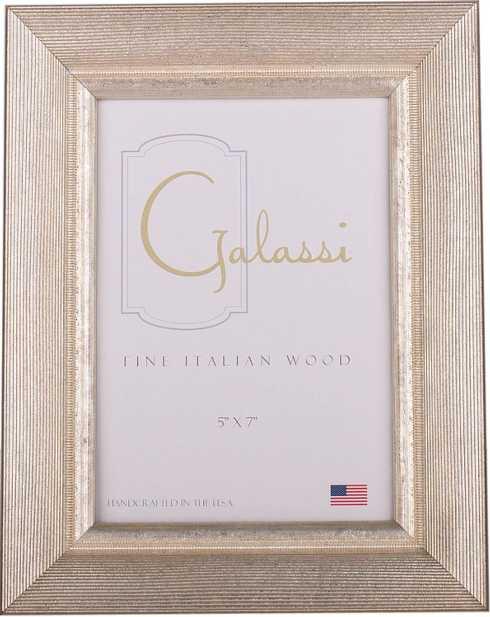 F.G. Galassi   8x10 Silver Groove Frame FGG-027 $83.00
