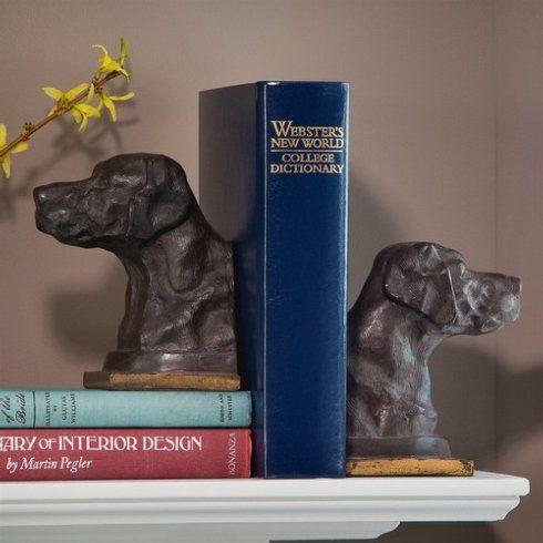 Dessau   Bronze Lab Iron Bookends DES-007 $96.00