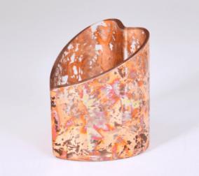 $44.00 Red 4x3 Heart Vase TCH-246