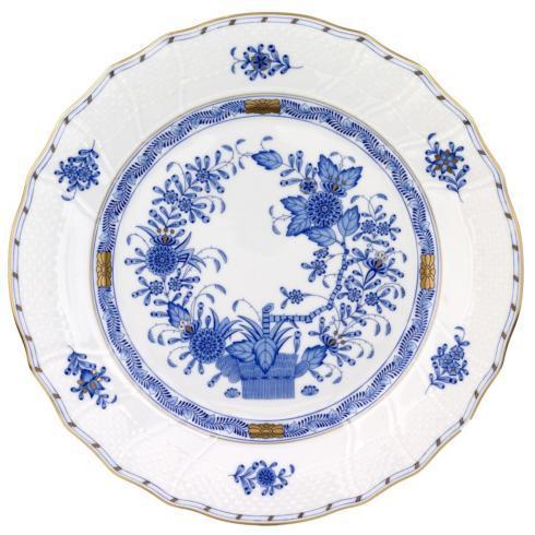 Babcock Exclusives  Herend Indian Basket Blue Dinner HRB-951 $280.00