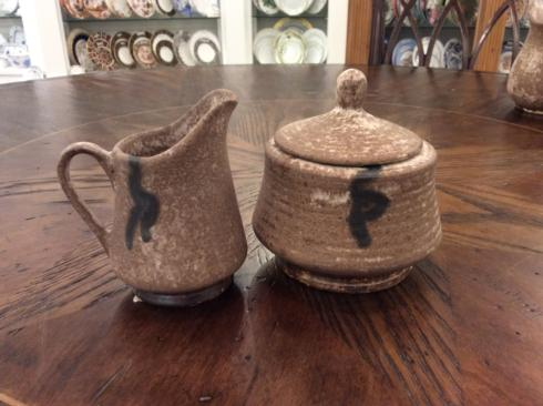 McCarty Pottery   Nutmeg Creamer & Sugar MCP-008 $51.00