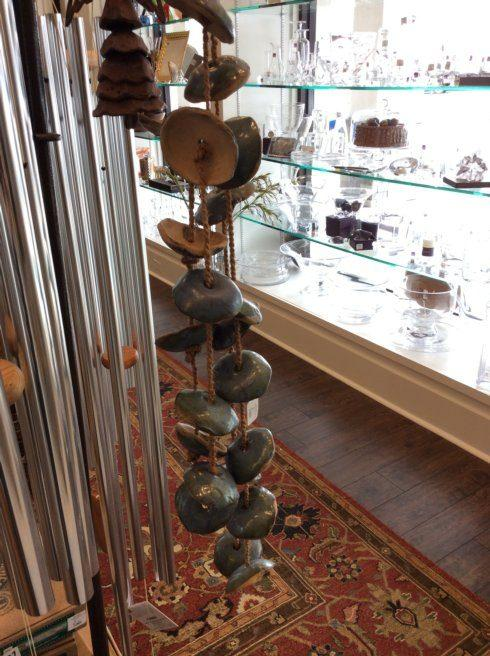 Babcock Exclusives  Michael Satterfield Pottery Windchimes Disk Assorted SFP-026 $125.00