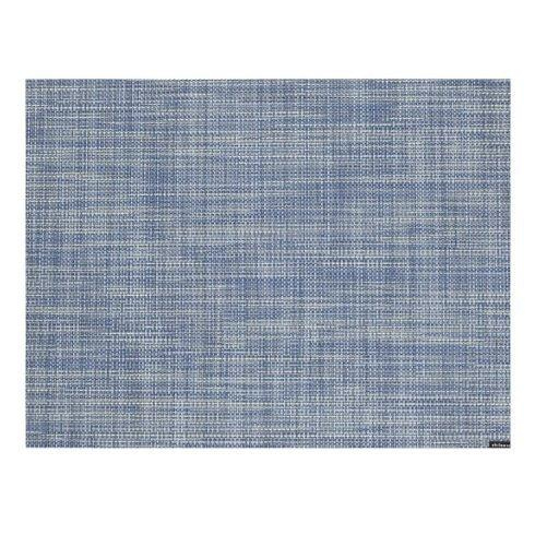 $15.00 Chambray Mini Basketweave Mat CWH-051