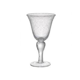 $10.50 Iris Clear Goblet ARD-054