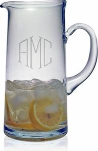 Susquehanna Glass   Tankard Pitcher 3 Letter Classic SQG-059 $60.00