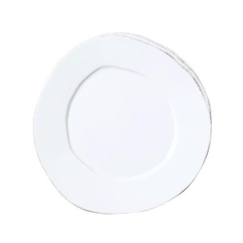 Lastra White salad plate/VIY-162