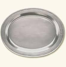 $294.00 Oval Incised Large Tray MTH-316